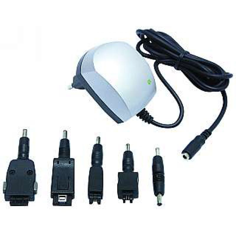Handy-Steckerlader McPower HSL-2K Switchmode 5 Adapter für alte Handys