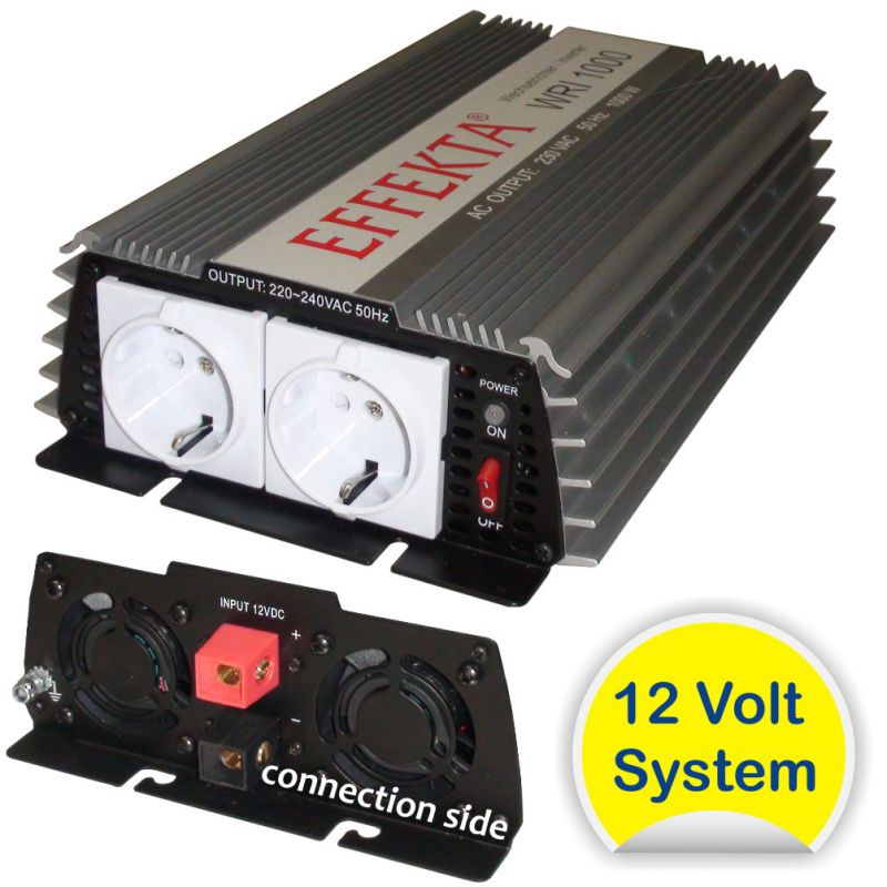 1000 W Spannungswandler / Modified Inverter 12V