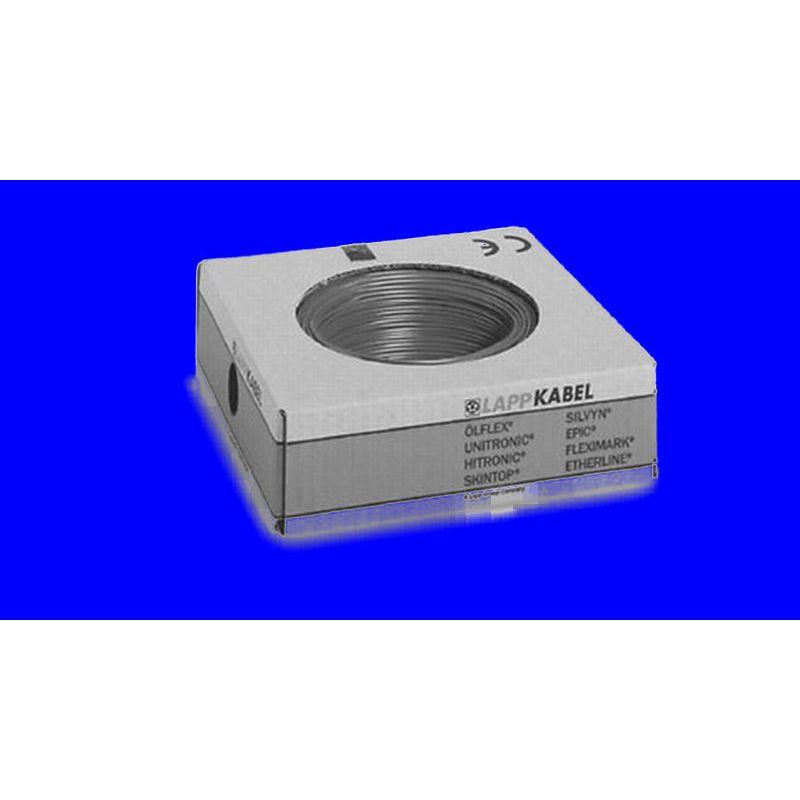 STEUERLITZE H07 V-K RING 1 x 16 qmm blau 50m