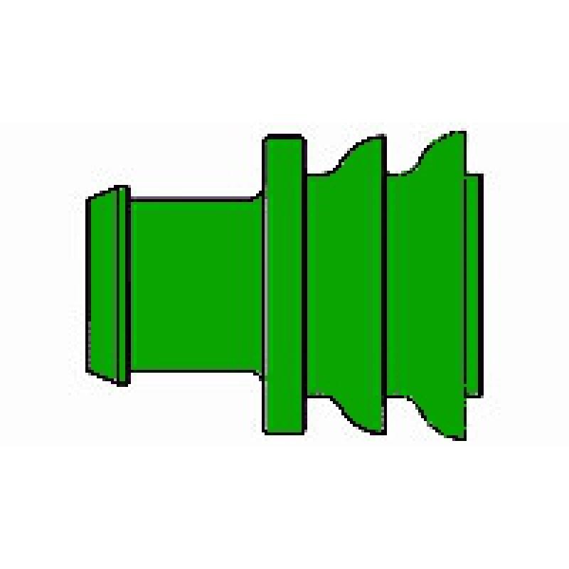 AMP 281934-4 Superseal Einzeladerdichtung, 1,4 - 1,7 mm, grün