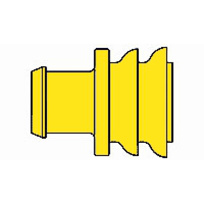 AMP 281934-2 Superseal Einzeladerdichtung, 1,8 - 2,4 mm, gelb