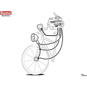 Kemo M172 Fahrrad Laderegler USB (Mini B)
