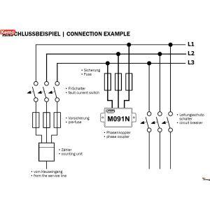 Kemo M091N Phasenkoppler für Powerline Produkte