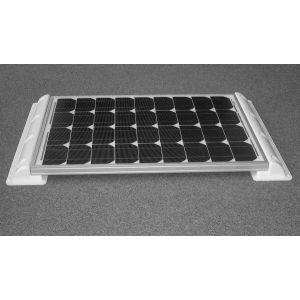Solarmodul Haltespoiler weiß 55cm für Wohnwagen, Wohnmobil, Gartenhaus, Boot
