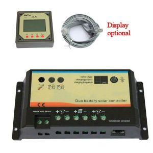 Laderegler EPIPDB-Com 12-24V 20A für 2 verschiedene Batterien