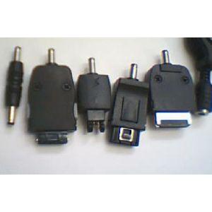 Universal Handyladekabel USB A-Stecker 5 Adapter f. Nokia,Motorola,Ericsson..