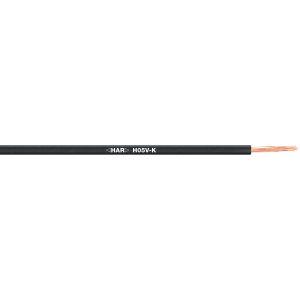 STEUERLITZE H05 V-K RING 1 x 0,75 qmm schwarz 100m