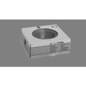 STEUERLITZE H05 V-K RING 1 x 0,75 qmm grau 100m