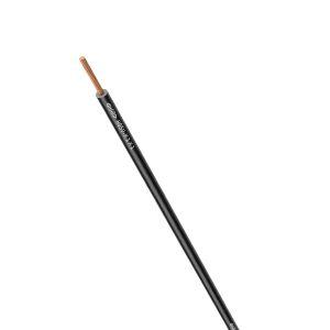 STEUERLITZE H05 V-K RING 1 x 1,0 qmm schwarz 100m