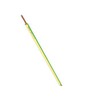 STEUERLITZE H05 V-K RING 1 x 1,0 qmm grün-gelb 100m