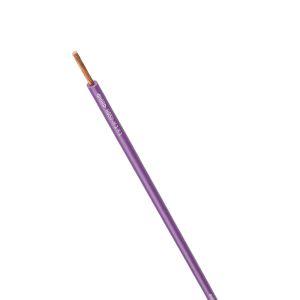 STEUERLITZE H05 V-K RING 1 x 1,0 qmm violett 100m
