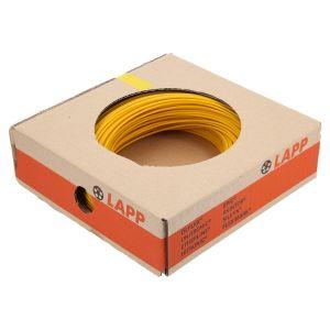 STEUERLITZE H05 V-K RING 1 x 1,0 qmm gelb 100m