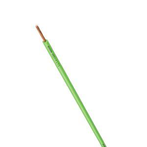 STEUERLITZE H05 V-K RING 1 x 1,0 qmm grün 100m