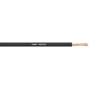 STEUERLITZE H07 V-K RING 1 x 1,5 qmm schwarz 100m