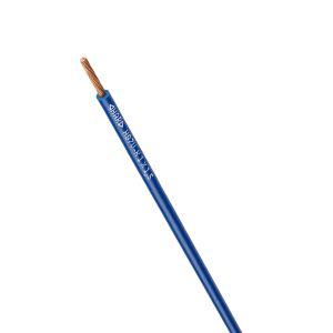 STEUERLITZE H07 V-K RING 1 x 1,5 qmm dunkelblau 100m