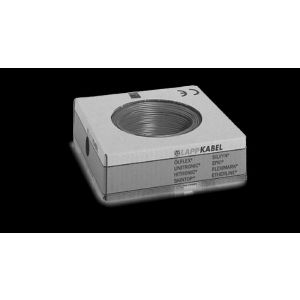 STEUERLITZE H07 V-K RING 1 x 2,5 qmm schwarz 100m