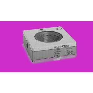 STEUERLITZE H07 V-K RING 1 x 2,5 qmm violett 100m