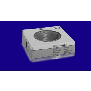 STEUERLITZE H07 V-K RING 1 x 2,5 qmm dunkelblau 100m