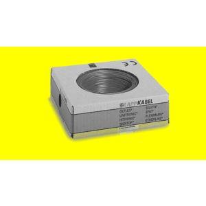 STEUERLITZE H07 V-K RING 1 x 4 qmm gelb 100m
