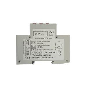 Spannungsmeßrelais Batteriewächter 48 Volt