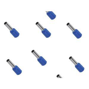 Aderendhülse 2,5 mm² isoliert 8mm 500 Stück blau