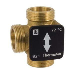 """3-Wege Schichtventil Thermovar 821   45°C mit 1"""" AG"""