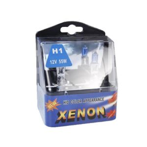 """Halogenlampenset McVoice """"White Laserlight"""" 55W, mit E-Zulassung, 2er-Set, H1"""