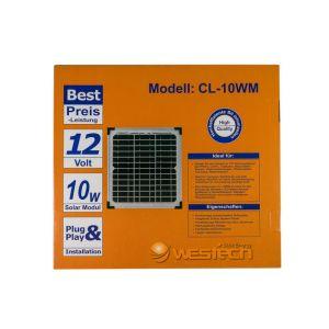 WT Solarmodul Mono 10Wp 20V