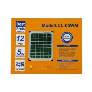 WT Solarmodul Mono 5Wp 18V