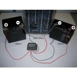 Kemo M174 Solarladeregler Dual  12V / 16A