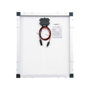 Solarmodul 50 Watt Mono Solarpanel Solarzelle 630x545x35 90585