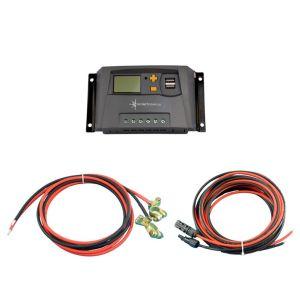 Solar Set 10A Laderegler Kabel für 1 Solarmodul Photovoltaik Inselanlage