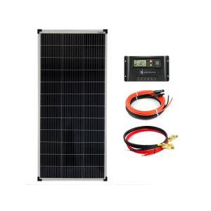 100Watt 12Volt Solar Set Solaranlage Inselanlage Garten Camping Solarmodul