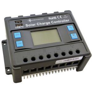 Solar Set 1000 Watt Wandler 20A Laderegler Kabel für 2 Solarmodul Photovoltaik Inselanlage