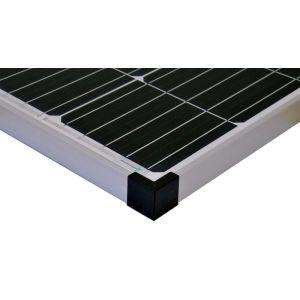 Komplettset 1x130 Watt Solarmodul 600 Watt Wandler Laderegler Photovoltaik Inselanlage