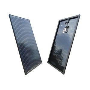 Solarmodul 50 Watt 12V Monokristallin in Schwarz