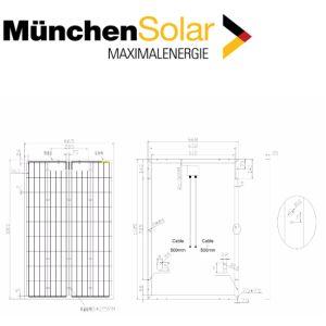 Solarmodul 100 Watt Polykristallin