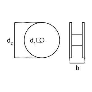 Schaltlitze LiY 1 x 0,14 mm² braun 500 m Spule