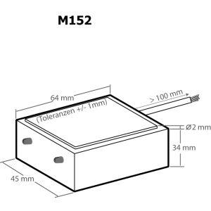 Kemo M152 Regensensor 12 V/DC