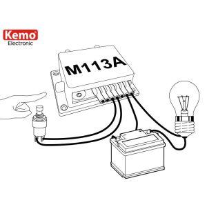 Kemo M113A Zeitschalter 12 - 15 V/DC